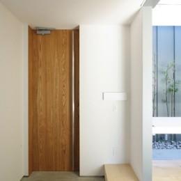 飯村の家-玄関