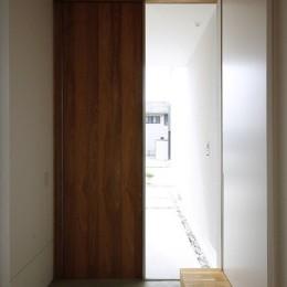 神戸の家 (玄関)
