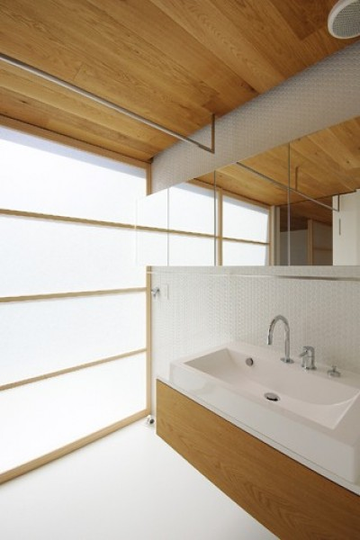 神戸の家 (洗面脱衣室)
