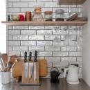 パリのアパルトマンの写真 キッチン