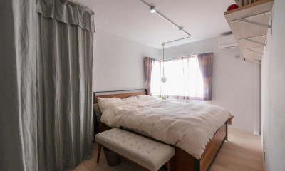 パリのアパルトマン (ベッドルーム)