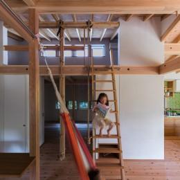 あったかくて美味しい家-はしご ハンモック