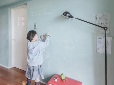 子供部屋 (WAKON - 和魂洋才!?飾って囲って収納力UPの駅近マンションリノベーション)