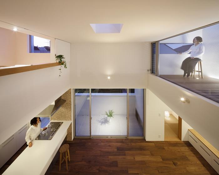 建築家:井東 力「中目黒の家」