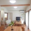 木の香りと暮らす自然素材の家の写真 LDK