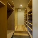 『上駒沢の家』プライベートを大切にした二世帯住宅の写真 シュークロゼット