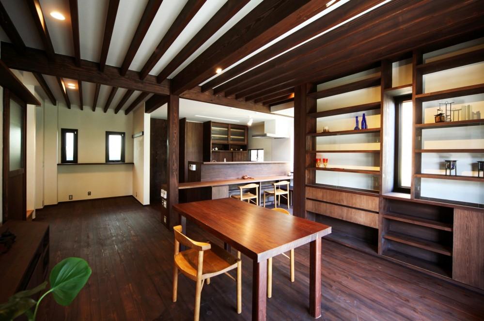 ちはら台の家-築19年のフルリノベーション- (リビング)
