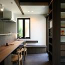 ちはら台の家-築19年のフルリノベーション-の写真 キッチンダイニング