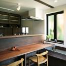 ちはら台の家-築19年のフルリノベーション-の写真 キッチン ダイニング
