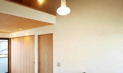 ちはら台の家 ー家も人も生まれ変わるリノベーションー (寝室)