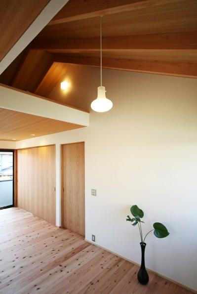 寝室 (ちはら台の家-築19年のフルリノベーション-)