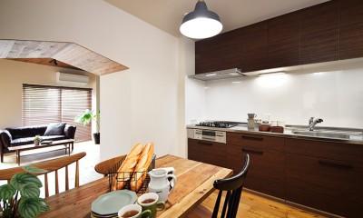 東京S邸~お家のなかにおウチがある家(マンション)~ (親子で料理を楽しめる広々キッチン)