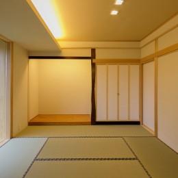 『上駒沢の家』 (和室)