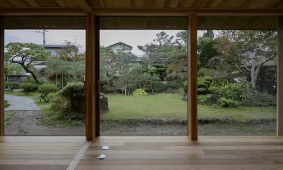『上駒沢の家』プライベートを大切にした二世帯住宅 (リビングダイニング)