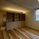 『上駒沢の家』プライベートを大切にした二世帯住宅の写真 寝室
