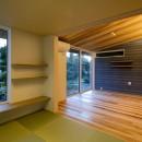 『上駒沢の家』プライベートを大切にした二世帯住宅の写真 和室(子世帯)