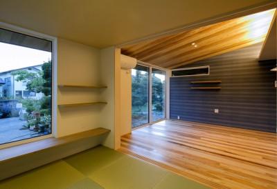 和室(子世帯) (『上駒沢の家』プライベートを大切にした二世帯住宅)