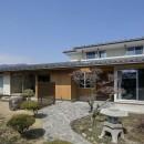 『上駒沢の家』プライベートを大切にした二世帯住宅の写真 親世帯のファサード