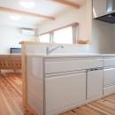 木の香りと暮らす自然素材の家の写真 キッチン