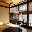 築50年木造の家-古きよき姿を残しながら住み継ぐリノベーション-の写真 古いものをそのまま活かした和室