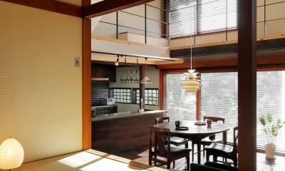 築50年木造の家-古きよき姿を残しながら住み継ぐリノベーション- (古いものをそのまま活かした和室)