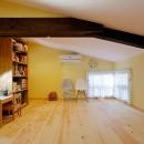 築50年木造の家-古きよき姿を残しながら住み継ぐリノベーション-の写真 優しいパステルカラーの子供部屋