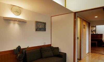 築50年木造の家-古きよき姿を残しながら住み継ぐリノベーション- (天井のカーブがポイント お洒落でユニークなお部屋)