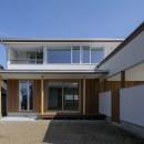 『須坂屋部町の家』思いっきり遊べる庭がある家の写真 外観