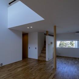 『須坂屋部町の家』思いっきり遊べる庭がある家