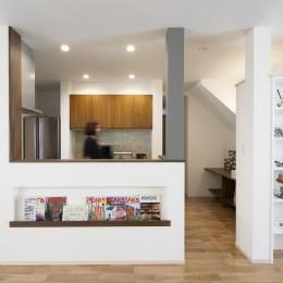 三世代同居の丈夫で使いやすい家 「O-River」 (キッチン)