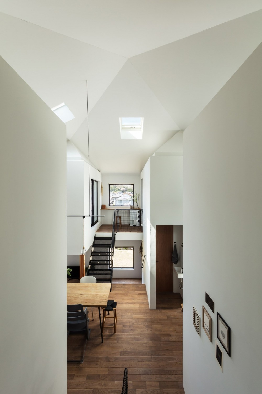 四つ角の家|家の中に4つの小さな家がある住宅【大阪府堺市】 (四つ角の家|インテリア)