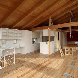 二世帯で楽しく暮らす家|吾妻川の家