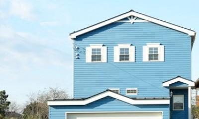 空色のアメリカンハウス