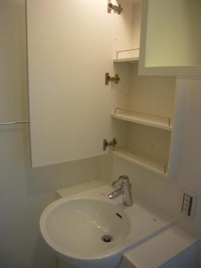 洗面室 (リノベーション住宅1)