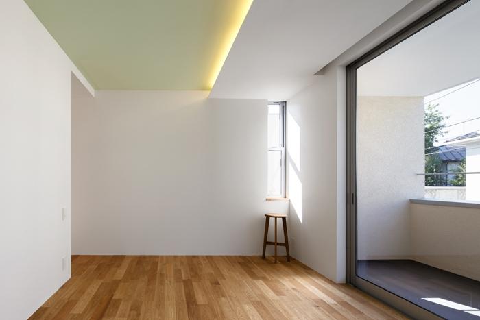 二世帯の生活を中庭が繋ぐ( 大東の家 )の部屋 寝室