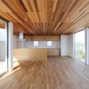 ファーバルデザイン一級建築士事務所の住宅事例「カーテン要らずの爽快な暮らし。高台立地で選ぶ、2階LDK。「非日常が日常になる家」」