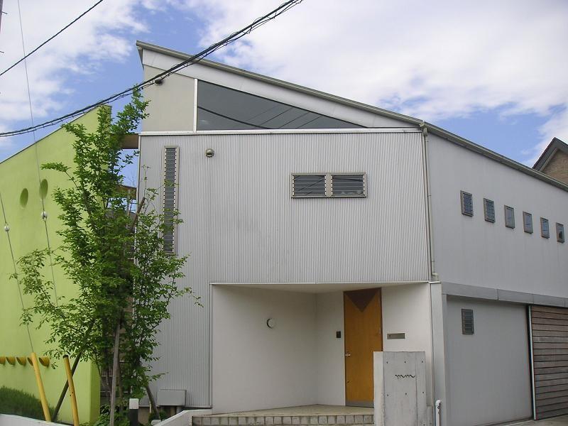 外観 (mm box|ガレージのある家)