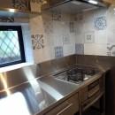 リノベーション住宅3の写真 オールステンレス製オーダーキッチン