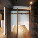 カグ ノ モリ - 壁面全面造作家具のリノベーション -の写真 床下収納