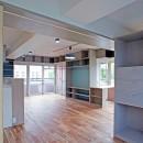 カグ ノ モリ - 壁面全面造作家具のリノベーション -の写真 個室からの眺め