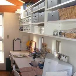 ガレージのある家|mm box (家族のワークスペース)