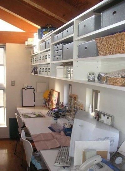 家族のワークスペース (ガレージのある家|mm box)