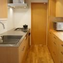 逗子の家―気持ちの良い場所の写真 キッチン
