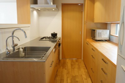 キッチン (逗子の家―気持ちの良い場所)