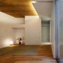 井東 力の住宅事例「二世帯の生活を中庭が繋ぐ( 大東の家 )」