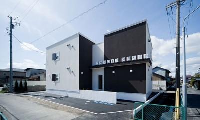 COPAIN HOUSE/四角のシンプルアパートメント