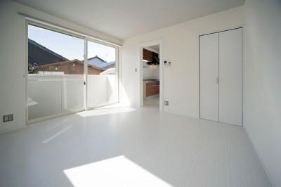 リビングダイニング (COPAIN HOUSE/四角のシンプルアパートメント)