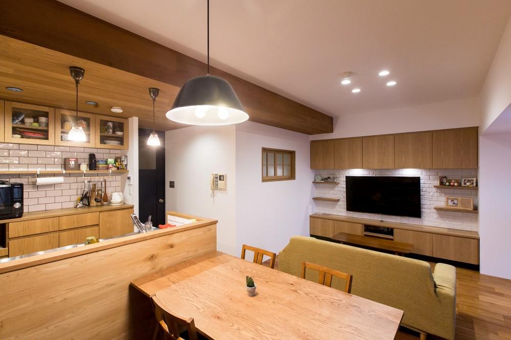 リビングダイニングキッチン (kitoki~穏やかな空気の流れる住まい~)