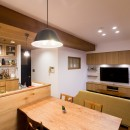 kitoki~穏やかな空気の流れる住まい~の写真 リビングダイニングキッチン