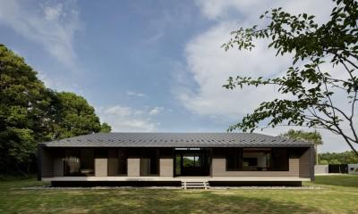 佐倉の別荘 子育て世代の週末住宅 (建物外観)